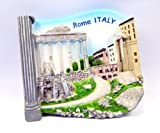 Souvenir Collectibles Fridge Roman Forum Rome Magnet Magnetic Cute Charm GiftHand Sculpting and Hand Painting 3d