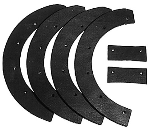 Oregon 73-001 Snow Thrower 6-Piece Paddle Set Replace Snapper 6-0631 by Oregon