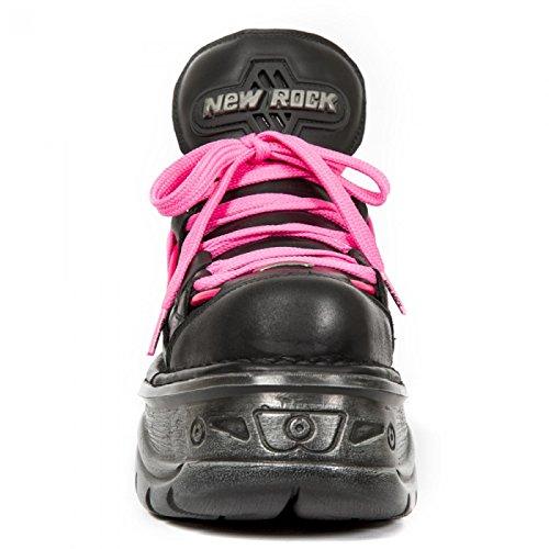 New Rock Boots M.1076-c1 Gotico Hardrock Punk Unisex Sneeker Schwarz