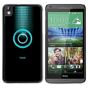 EJOY---Cubierta de la caja de protección la piel dura para el / HTC DESIRE 816 / --Tren