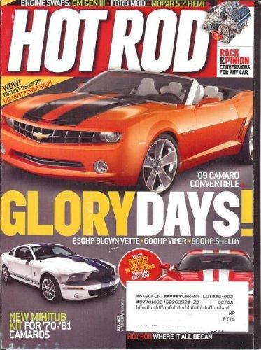 Blown Hot Rod (Hot Rod Magazine (May 2007) (Glory Days!650HP Blown Vette,600HP Viper,500HP Shelby))