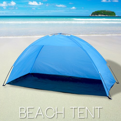 Portable Pop Up Cabana Beach Shelter Infant Sand Tent Sun Shade Outdoor UV, Outdoor Stuffs