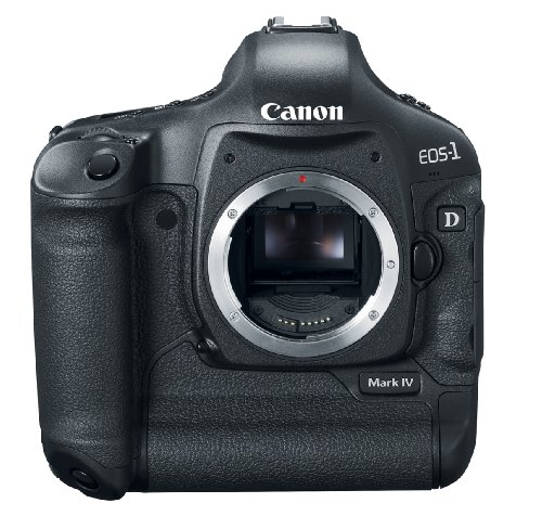 - Canon EOS 1D Mark IV 16.1 MP CMOS Digital SLR Camera with 3-Inch LCD and 1080p HD Video (Body Only)