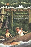 img - for Magic Tree House Boxed Set, Books 5-8: Night of the Ninjas, Afternoon on the Amazon, Sunset of the Sabertooth, and Midnight on the Moon by Mary Pope Osborne (2002) Paperback book / textbook / text book
