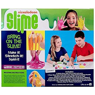 Cra-zArt Glitter Cool Scented Slime Kit: Toys & Games