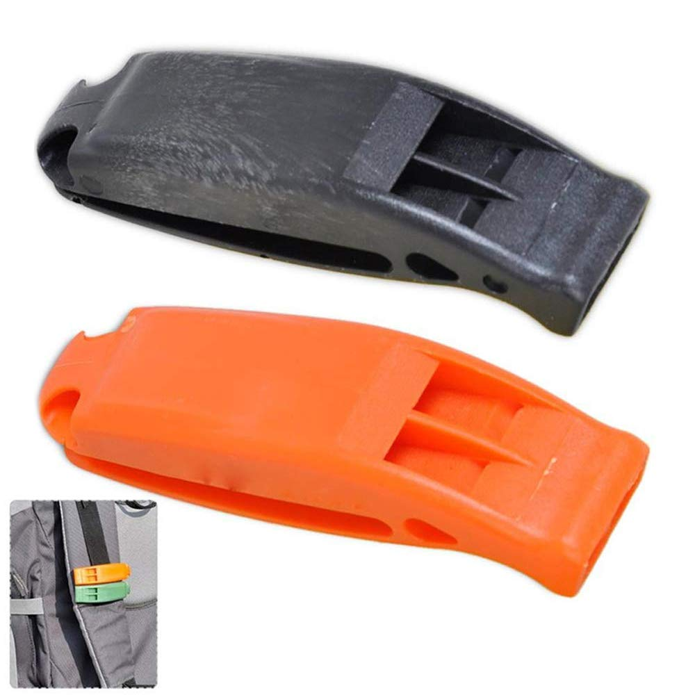 Ezyoutdoor Outdoor Camping Sports Survival Emergency Whistle Double Frequency