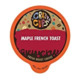 Crazy Cups Flavored Hot or Iced Coffee, for the Keurig K Cups 2.0 Brewers, Maple French Toast, 22 Count