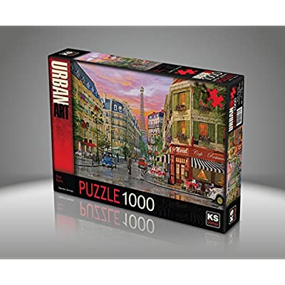 Puzzle 1000 Pices Dominic Davison Rue De Paris