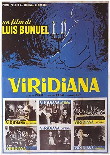 Luis Bunuel Viridiana Silvia Pinal movie poster print