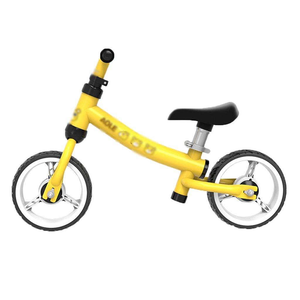 Balance Auto Auto Balance Roller 2-5 Jahre alt ohne Fuß Balance Fahrrad Baby Fahrrad Auto Balance modernes Kind Balance Auto (Farbe   Gelb, Größe   66  45cm) Gelb 6645cm