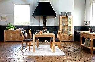 JYSK Mesa de Comedor Silkeborg 90 x 160 cm Roble: Amazon.es: Hogar