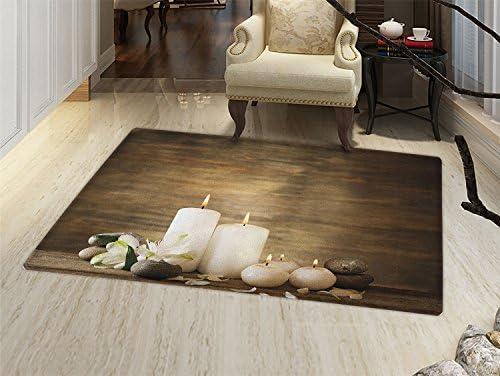 Amazon.com: Spa Felpudo alfombra pequeña bohemio Piedras Zen ...