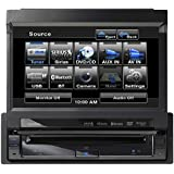 Clarion VZ401 7-Inch In-Dash Single-Din Touchscreen DVD/CD/MP3/USB Receiver with Bluetooth (Discontinued by Manufacturer)