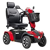 """Drive Medical Panther Heavy Duty 4-Wheel Scooter Including 5 Year Extended Warranty (20"""" Captain's Seat)"""