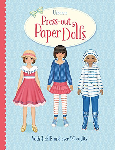 Press-Out Rag Dolls (Press Outs)
