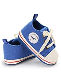 Liobaba Infant Soft Soled Anti-Slip Shoes Cotton Shoes Babys Girls Solid Color First Walkers Shoes Soft Material Sport Style