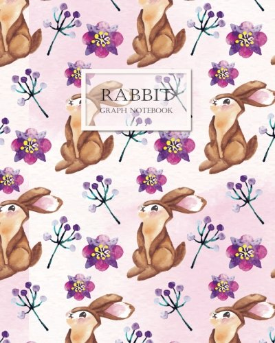 - RABBIT Graphn Notebook: 120 pages Cream Paper Large 8