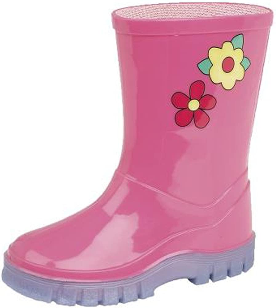 Infants Pink Wellington Wellies Boots