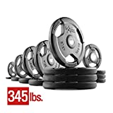 Kyпить XMark Fitness XM-3377-BAL-345 Rubber Coated Olympic Plates на Amazon.com