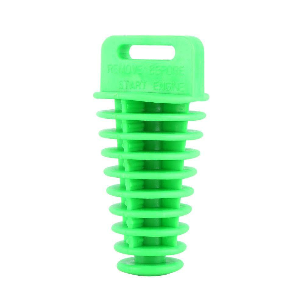 tubo de silenciador de 2//4 tiempos Silenciador de escape Bung Wash Tap/ón de goma para motocicleta Dirt Bike ATV Quad Yellow Tap/ón de silenciador de escape
