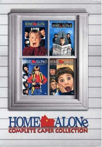 Home Alone: Complete Caper Collection - (Home Alone/Home Alone 2: Lost in New York/Home Alone 3/Home Alone 4: Taking Back the House) (Home Alone 4 Taking Back The House)