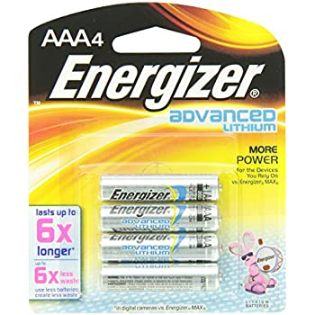 Amazon.com: Energizer Ultimate Lithium AAA Batteries, 12