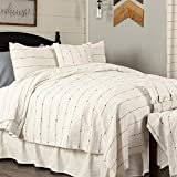 Piper Classics Farmcloth Stripe Queen Coverlet