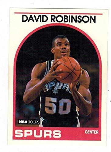 1989 NBA Hoops 310 David Robinson See Image