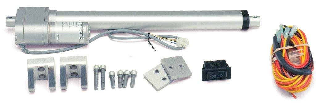 Dakota Digital 12'' Linear Actuator Trunk Lid 110lb pulling/pushing force LACT-12
