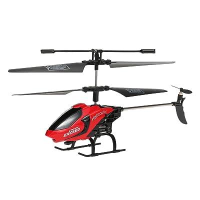 Goolsky Hélicoptère Explorer 3.5CH RC avec Gyroscope & LED Lumière