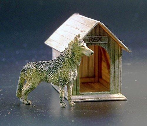 Plus Model 1:35 Dog House Diorama Accessory #423*