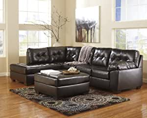 Ashley 20101-16-67 Alliston Sectional Sofa with Left Arm Facing Corner Chaise and Right Arm Facing Sofa in