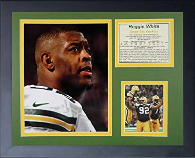 "Legends Never Die ""Reggie White Packers"" Framed Photo Collage, 11 x 14-Inch"