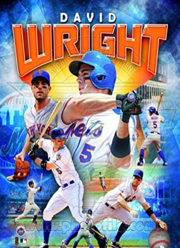 David Wright 2012 Portrait Plus Photo Sport Poster