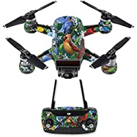 Skin for DJI Spark Mini Drone Combo - Backyard Gathering| MightySkins Protective, Durable, and Unique Vinyl Decal wrap cover | Easy To Apply, Remove, and Change Styles | Made in the USA