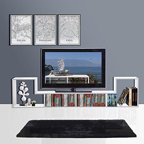 white metal tv stand - 8