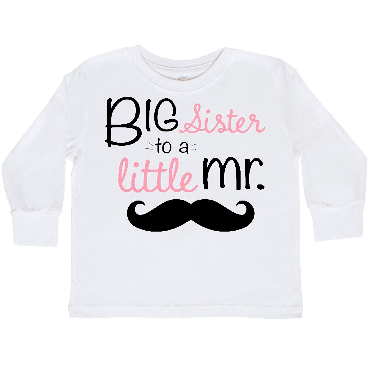 inktastic Big Sister to a Little Mr Toddler Long Sleeve T-Shirt