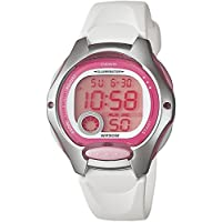 Casio LW-200-7A White and Pink Women's or Children's 50m Casual Digital Sports Watch