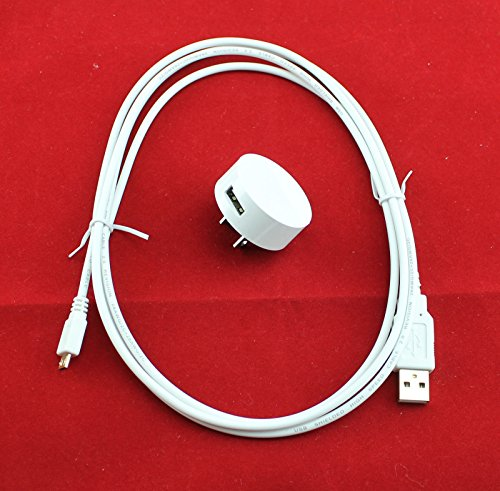 Price comparison product image OEM Nokia AC-16U 5V-1A Home Wall Adapter + 6 Ft USB Charger Data Cable For Lumia