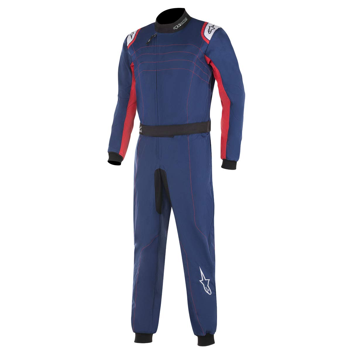 Alpinestars KMX-9 V2 SUIT BLACK RED WHITE 50