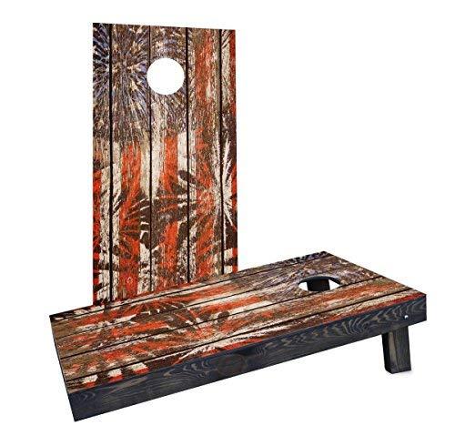 熱販売 Custom Cornhole Boards Wood CCB1715-2x4-AW-RH Distressed Wood Slat CCB1715-2x4-AW-RH Patriotic Fireworks [並行輸入品] Cornhole Boards [並行輸入品] B07HLGKM24, 浜田市:b59f64a9 --- rcavalcantiadvogados.com.br