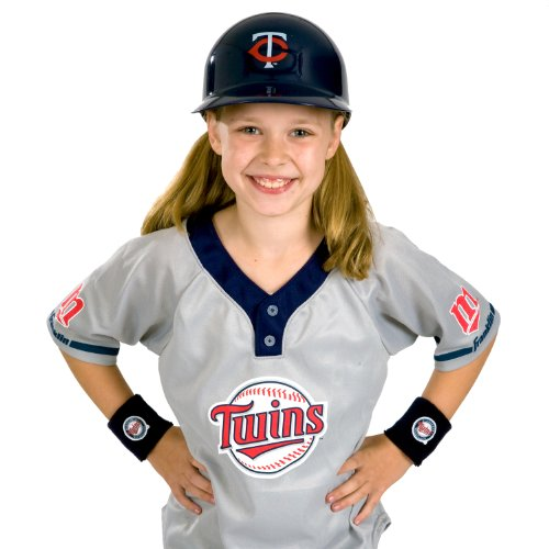 [Franklin Sports MLB Minnesota Twins Youth Team Uniform Set] (Twins Day Costumes)