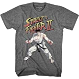 American Classics Street Fighter Video Martial Arts Arcade Game Ryu Graphite Heather Adult