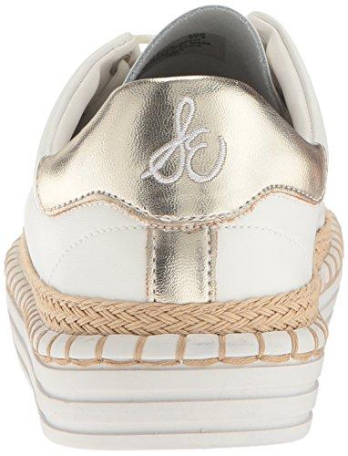 Sam Edelman Womens Kavi Sneaker Bright White Leather