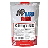 Hard Rhino Creatine HCL Powder, 125 Grams (4.4 Oz), Unflavored, Lab-Tested, Scoop Included