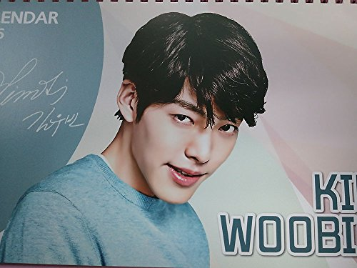 KPOP/ Korean Drama Woo Bin Kim Calendar 2017 included ...