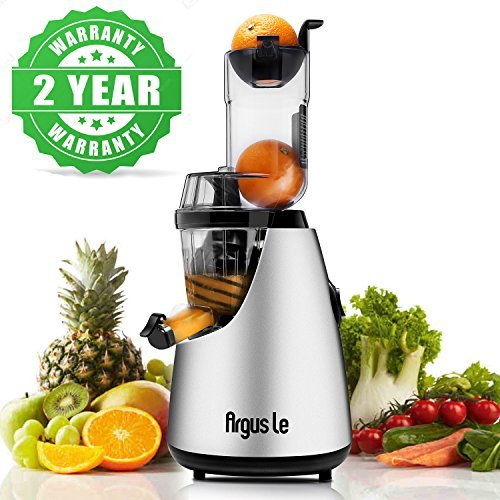 """Argus Le Slow Masticating Juicer 3""""inches Wide Feed Chute"""