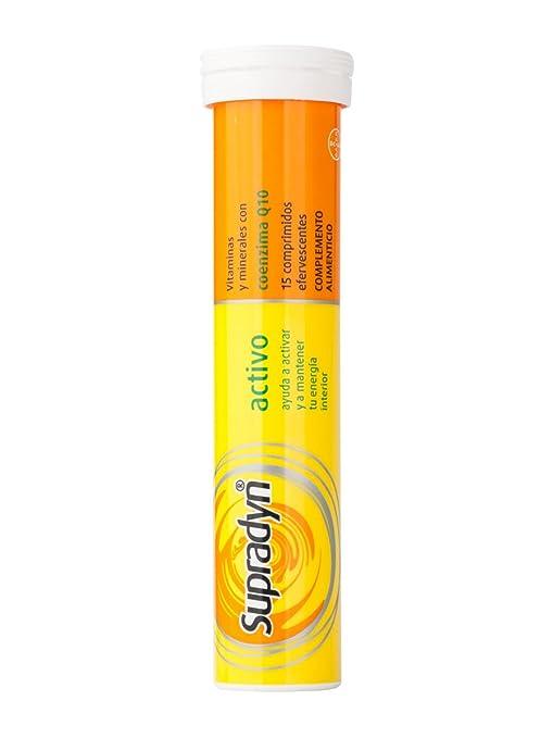 BAYER Supradyn activo efervescente 30 comprimidos