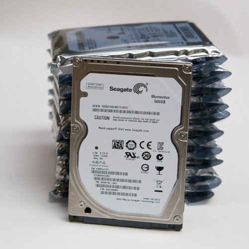 500GB Seagate Momentus ST9500424AS SATA 3.0gps 7200 rpm 2.5