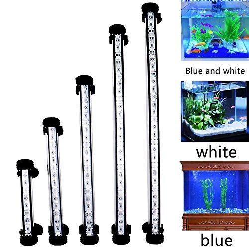 (FTALGS LED Aquarium Light, Submersible Fish Tank LightAmphibious Led Fish Tank Lighting (1.8x58cm,White))